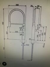 SMEG MDF50PB Single Lever Mixer Semi-Professional Rod Rotating Pastel Blue