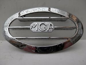 Original Authentic Side Body MGA Badge. MG  Car Badge.
