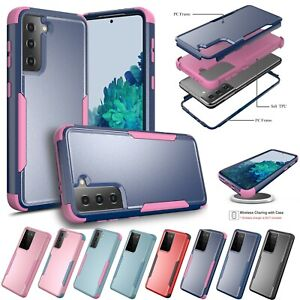 For Samsung Galaxy S21 / S21 Plus / S21 Ultra Case Shockproof Hard Cover