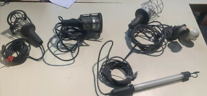 4 Verschriebe Werkstatt- Arbeit Leuchte- Lampe,+2 Bewegungsmeldern