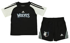 Adidas NBA Infant Minnesota Timberwolves Slam Dunk Short Set , Black