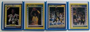 "1991-92 BECKETT FUTURE STARS SHAQUILLE O'NEAL COMPLETE 4 CARD SET "" RARE """