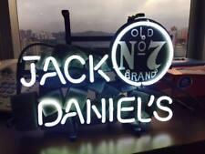 "13""x7""JACK DANIEL'S Neon Sign Light Beer Bar Pub Wall Decor Handmade Artwork"