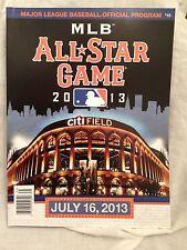 2013 All Star Game Program Scorecard Citi Field