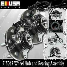 2 PCS FRONT WHEEL HUB  ASSEMBLY for 2003-06 Lincoln Navigator 4WD Axle Bearing