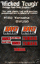 YAMAHA 1988 BW350 WICKED TOUGH DECAL GRAPHIC KIT