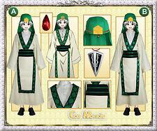 Japan Anime Magi Jafar Cosplay Costume+Gift
