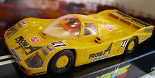 """Scalextric C272 Porsche 962-Yelllow - """"de un' # 27-Coche Raro-Nuevo En Caja"""
