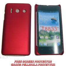 Pellicola + custodia BACK cover ROSSA per Huawei Ascend Y300