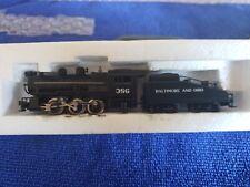 Minitrix N Scale Steam Locomotive #386 Baltimore and Ohio #2919
