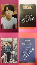 SUPER JUNIOR DONGHAE 2 pcs DEVIL MAGIC Official Hidden Photocard Special Album
