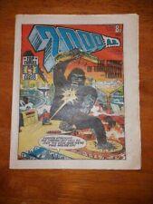 2000AD Prog 5 Comic 2000A.D 26th March 1977