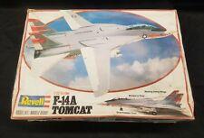 VINTAGE Revell 1:32 ~F-14A Tomcat~ F-14 Jet Model Kit #4712U...SCARCE FIND!