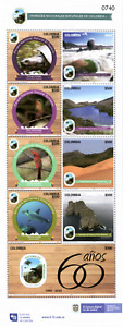 stamps colombia 2020