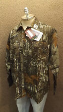 Vtg NEW Walls Realtree Camo Hunting Shirt  Whisper Soft Cotton Sz XL USA Made