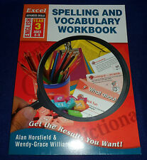 Excel Advanced Skill - Spelling and Vocabulary Workbook Year 3 By Alan Horsf