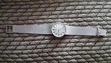 14kt White Gold Omega Men's watch