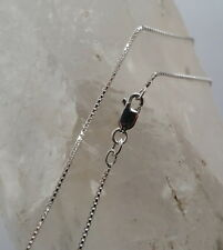 925 Italian Made Solid 925 Sterling Silver Box Chain 50 cms