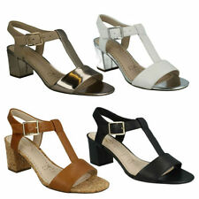 Buckle Leather Formal Shoes for Women