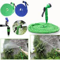 25/50/75/100/200ft Expandable Flexible Garden Hose Pipe 3x Expanding&Spray Gu YB