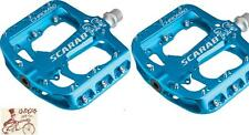 "CHROMAG SCARAB BLUE 9/16"" BICYCLE CRANK PEDALS"