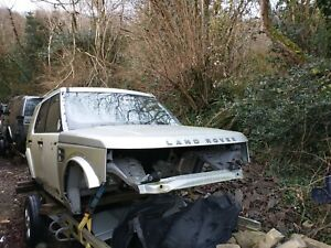 Land Rover Discovery 4 HSE Bodyshell Doors Bonnet  LHD Left Hand Drive Salvage