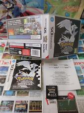 Nintendo DS:Pokémon Version Noire [TOP RPG & 1ERE EDITION] COMPLET - Fr