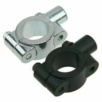 "10mm Universal Motorcycle 7/8"" Handlebars Mirrors Mount Holder Clamp Adaptor"