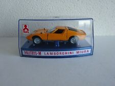 Politoys 552 - Lamborghini Miura P400 - Boxed - Scarce item in this condition