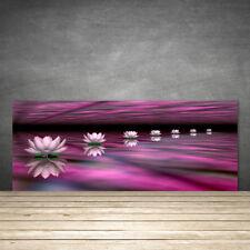 Crédence de cuisine en verre Panneau 125x50 Floral Fleurs