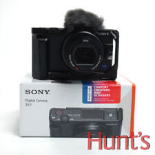 SONY ZV-1 20.1MP DIGITAL CAMERA w/ZEISS T* LENS, SMALLRIG CAGE