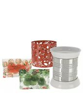 HomeWorx by Harry Slatkin Fragrance Warmer with 2 Sleeves 12 Gelables  HOLIDAY