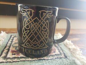 Black Iceland Coffee Mug