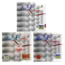 2x Yasaka Zap-40mm Biotech No ITTF Pips-in Rubber 36-38 Degrees 1 Red 1 Black 2.2mm