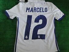 KIDS REAL MADRID HOME SHIRT** MARCELO** BNWT 2016-17 SIZE ** 9-10 **  YEARS