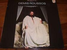 33 TOURS / LP POCHETTE DOUBLE--DEMIS ROUSSOS--HAPPY TO BE...--1976