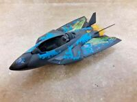 LANARD The Corps M-Zero Flash Hawk Fighter Jet Plane Army Military Soldier Toy