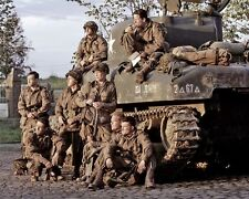 Band of Brothers Cast Tank 10x8 Photo