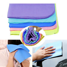 Synthetic Chamois Leather PVA Home Auto Car Care Dry Washing Wipe Clean Towel