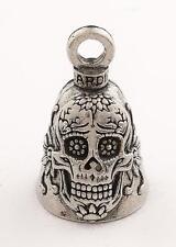 Sugar Skull Guardian® Bell Motorcycle Harley Luck Gremlin Ride
