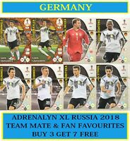 Panini Adrenalyn XL FIFA World Cup 2018 Russia - Choose your GERMANY team cards