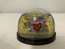 Decorative Collectable Snow Globe From Columbia Approximately 2-3 Inches