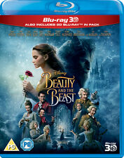 Beauty and The Beast BLURAY 3d 2017 Region DVD