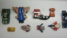 vintage G1 and recent Transformers and other gobots robots lot for parts As Is