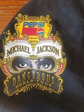 MICHAEL JACKSON Dangerous World Tour Bag SWAG Ultra rare, official 1992 PEPSI