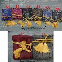 Long Rayon-Silk  Sword Bag for Japanese katana / Japanese Samurai Sword