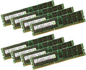 8x 16GB 128GB RDIMM ECC 1600Mhz DDR3 RAM f DELL PRECISION T3600 T5600 T7600
