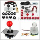 Arcade Game DIY PC Joystick Replacement Part Set Kit USB Encoder + Push Buttons