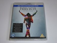 MIchael Jackson - This Is It - 3D Enhanced Version - NEW / SEALED UK BLU-RAY 3D