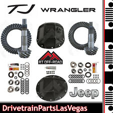 Jeep TJ Dana 35 30 Ring & Pinion Re-Gear OffRoad HD Covers Master Kits 4.88 NEW